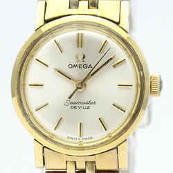 Vintage OMEGA Seamaster De Ville Gold Plated Automatic Ladies Watch BF516565