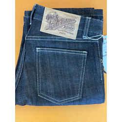 Louis Vuitton Denim Noir Low Rise Jeans Euro size 36