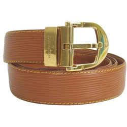 """Louis Vuitton Ceinture Epi Leather Brown Belt Suntur 872744 """
