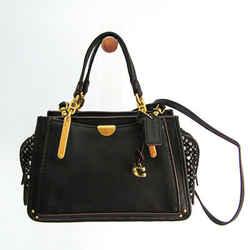 Coach Tweed Dreamer 21 88203 Women's Leather,Tweed Handbag,Shoulder Bag BF518535