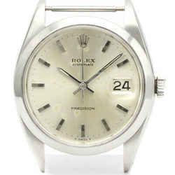 Vintage ROLEX Oyster Date Precision 6694 Steel Mens Watch Head Only BF523893