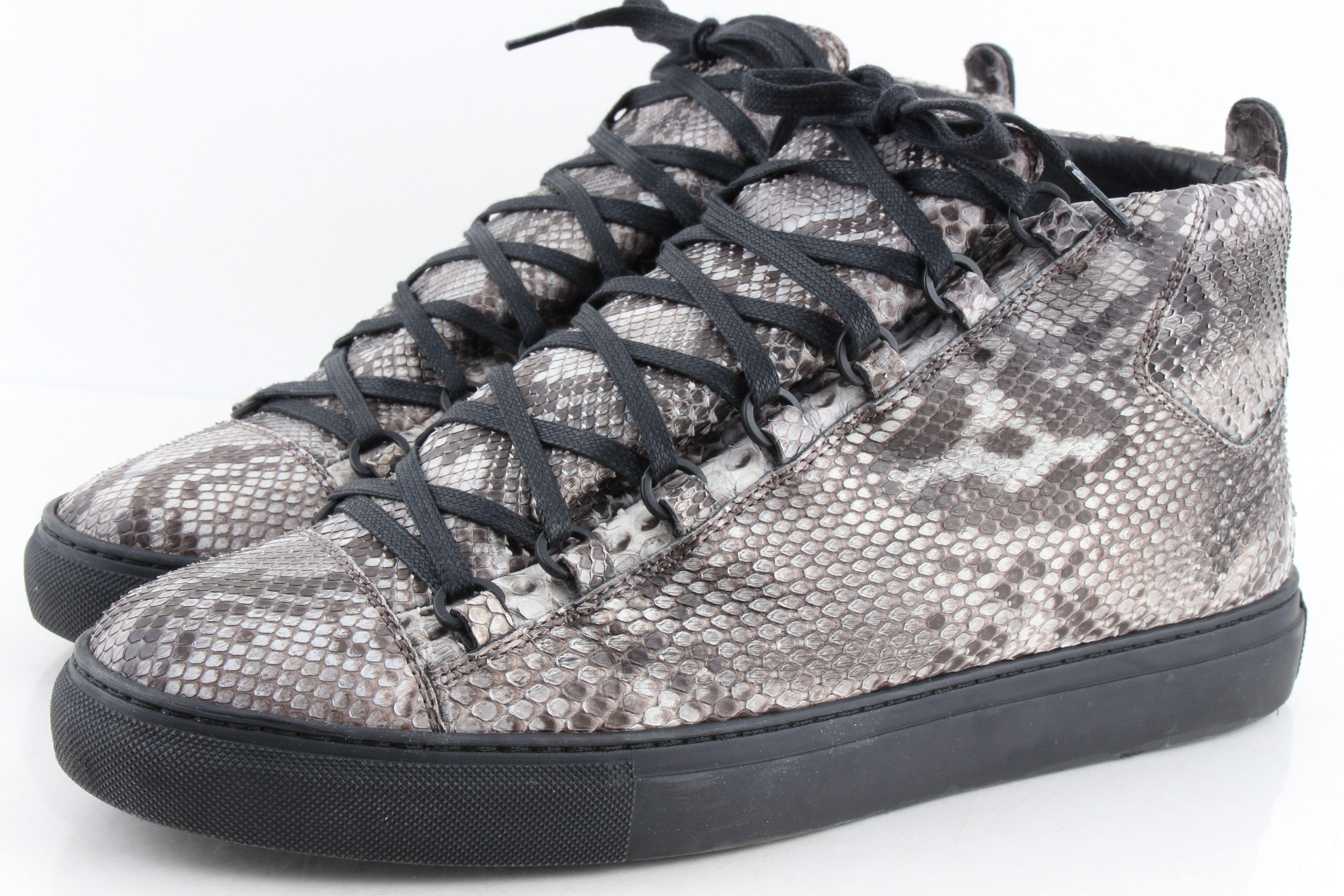 Python Arena High-top Sneakers | LePrix