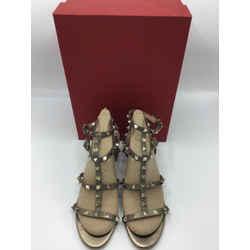 Valentino Garavani Size 39/9 Gun Metal Heels