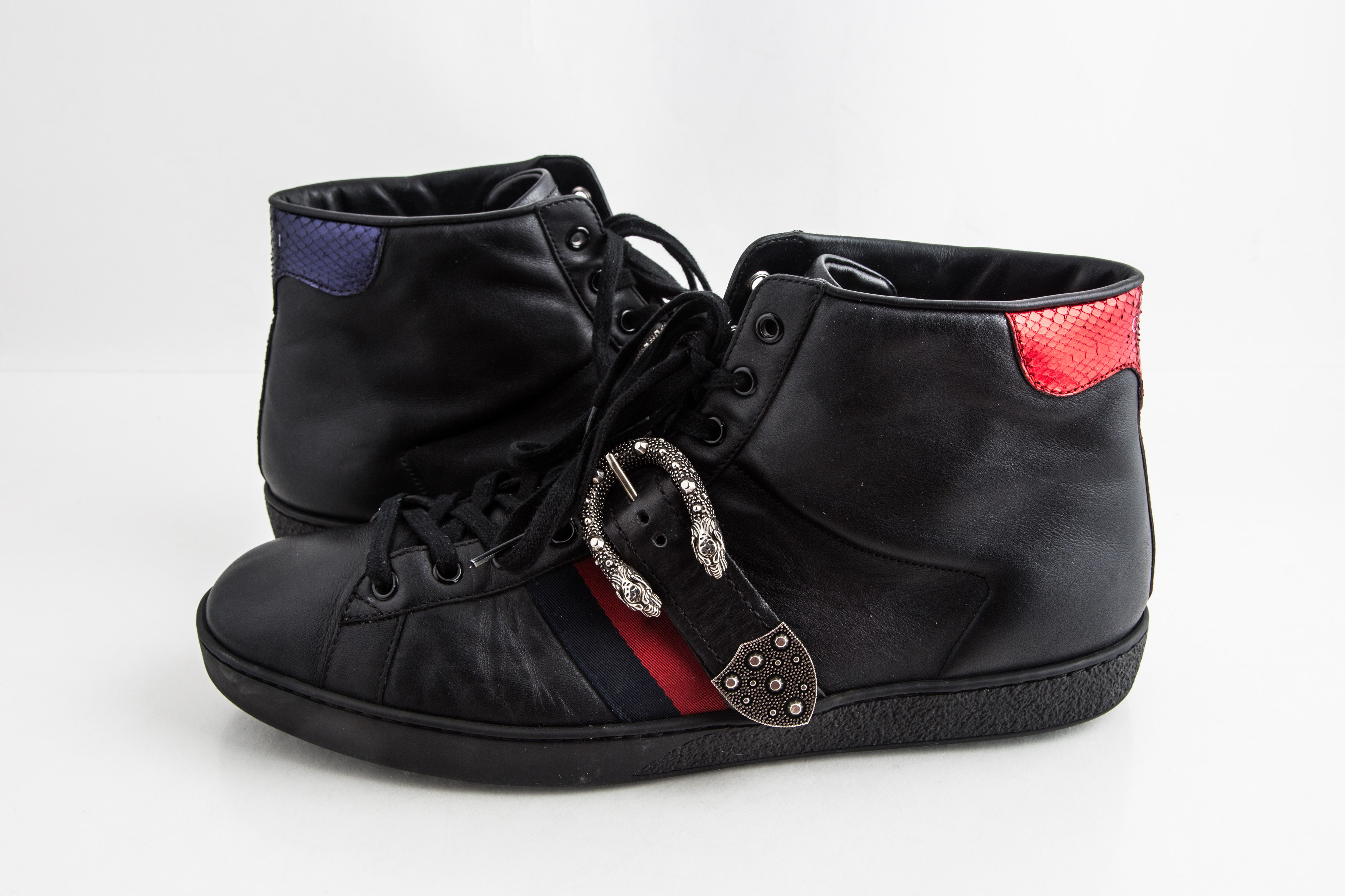 Gucci Ace High-Top Sneakers with