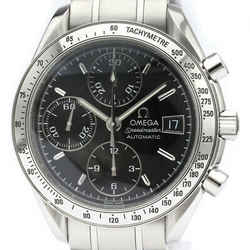 Polished OMEGA Speedmaster Date Steel Automatic Mens Watch 3513.50 BF515774