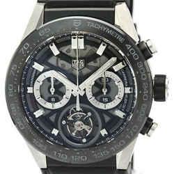 TAG HEUER Carrera Heuer 02T Tourbillon Ceramic Automatic Watch CAR5A8Y BF519047