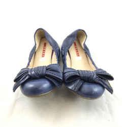 Prada Leather Ballet Flats. Size 37