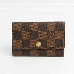 Louis Vuitton Damier Multicle 6 N62630 Unisex Damier Canvas Key Case Eb BF524319