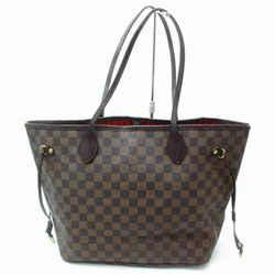 Louis Vuitton Damier Ebene Neverfull MM Tote 860401