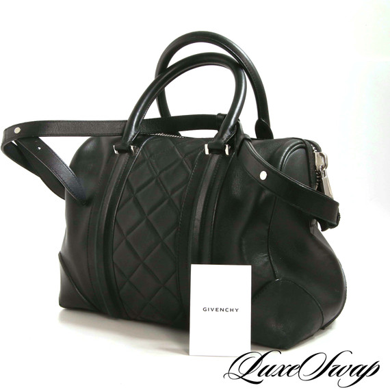 Givenchy Matte Leather Lucrezia Bag w/ Strap