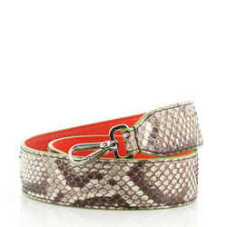 Strap You Shoulder Strap Python and Leather