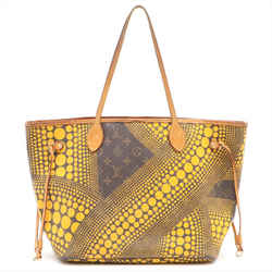 Louis Vuitton Yellow Monogram Kusama Infinity Dots Neverfull MM Tote 448lvs32