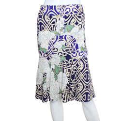 Roberto Cavalli | Abstract Printed Skirt