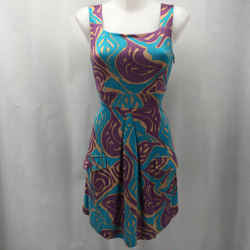 Missoni Purple Sleeveless Dress XS