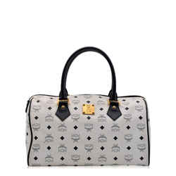 Mcm | White Boston Bag One Size Authenticity