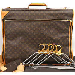 Authentic Louis Vuitton Monogram Portable Cabin 2way Garment Bag M23420 France