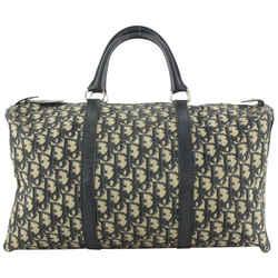 Dior Navy Monogram Trotter Boston Duffle Bag 567da614