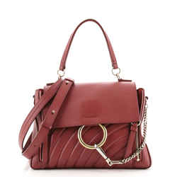 Faye Day Bag Quilted Leather Small