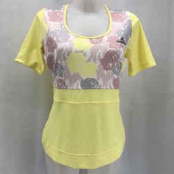 Stella McCartney Adidas Yellow Athletic Tee Medium