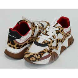 Versace Men's Squalo Printed Sneakers