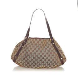 Brown Gucci GG Canvas Pelham Shoulder Bag