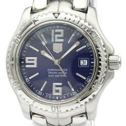 Polished TAG HEUER Link Chronometer 200M Steel Automatic Watch WT5112 BF516852