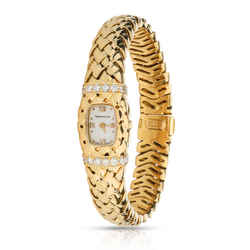 Tiffany & Co. Vannerie Vannerie Women's Watch in 18kt Yellow Gold