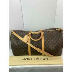 Louis Vuitton KEEPALL BANDOULIERE 60 Monogram Travel Luggage M41412 DC372
