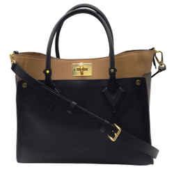Louis Vuitton 2019 On My Side Tote Bag in Noir