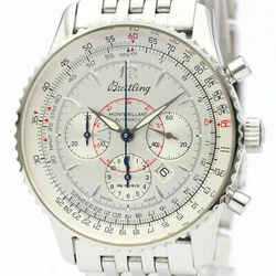 Polished BREITLING Navitimer Montbrillant Steel Automatic Watch A41330 BF520044