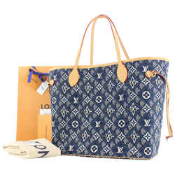 Louis Vuitton Blue Since 1854 Monogram Neverfull MM tote bag 323lvs223