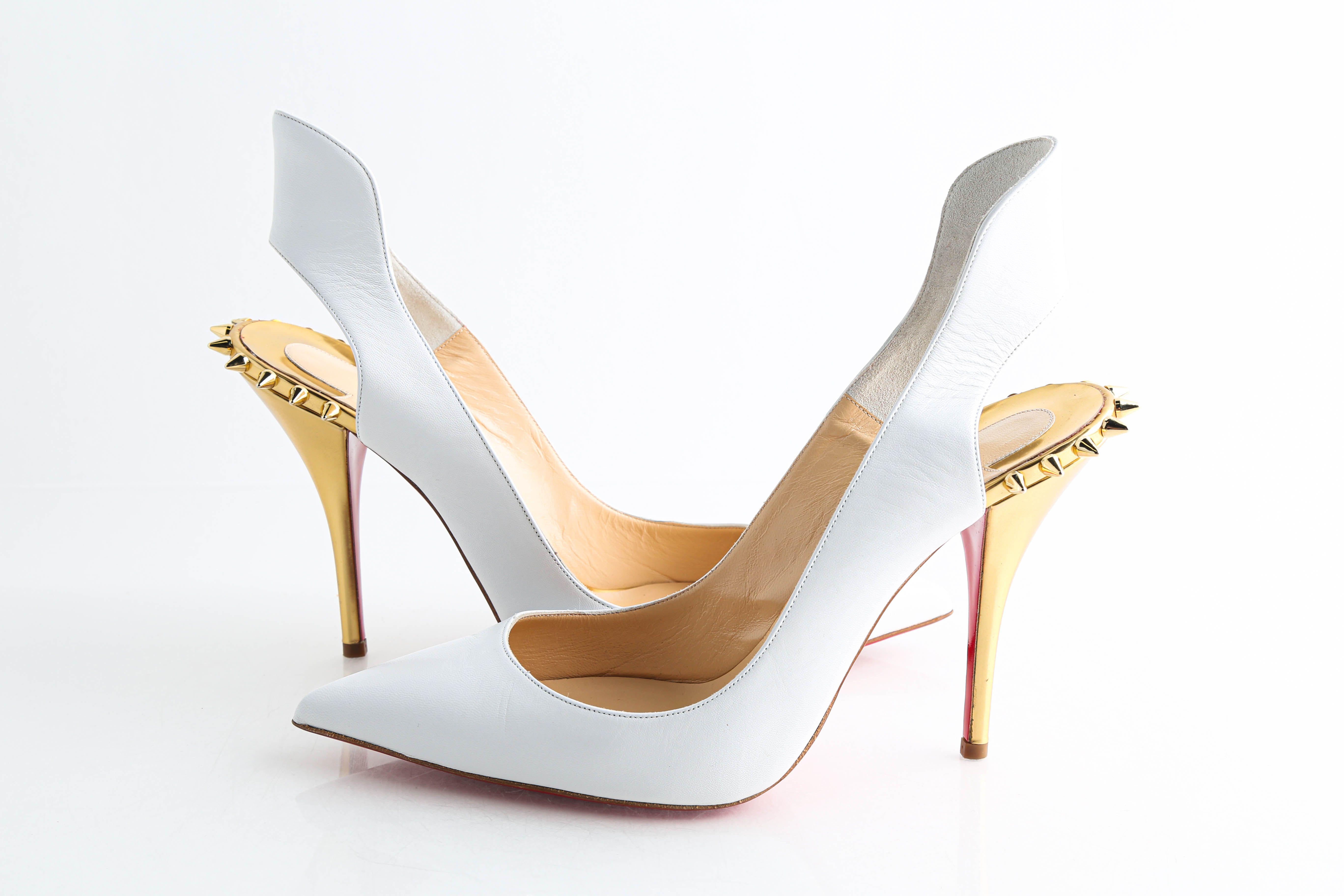 Gold Survivita 100 Dress Heels Pumps