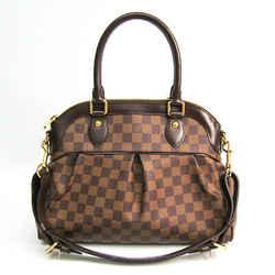 Louis Vuitton Damier Trevi PM N51997 Women's Shoulder Bag Ebene BF508773