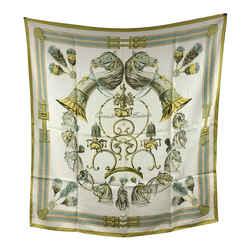 Hermes Vintage Silk Scarf Panache et Fantasie 1959 Hugo Grygkar