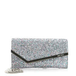 Emmie Clutch Glitter Leather