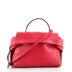Wave Bag Embellished Leather Small