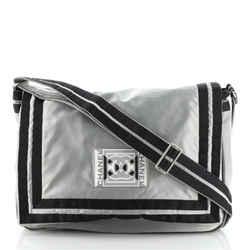 Sport Line Flap Messenger Bag Satin Medium