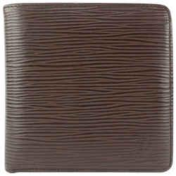 Louis Vuitton Moka Brown Epi Leather Slender Multiple Marco Florin Wallet 526lvs610