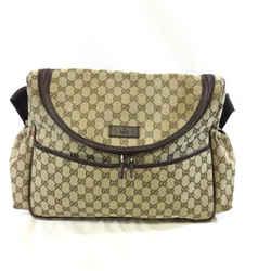 Gucci Guccissima Canvas Diaper Bag