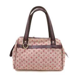 Louis Vuitton Bordeaux Monogram Mini Lin Josephine PM Speedy Bag 863467