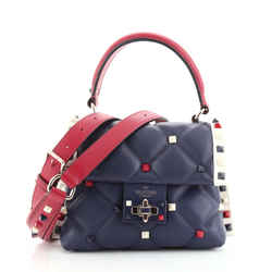 Candystud Top Handle Bag Leather Mini