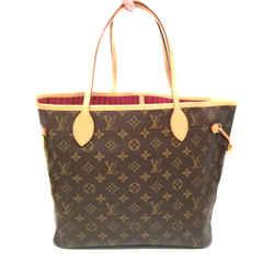 Louis Vuitton Monogram Neverfull Tote Canvas Mm Pivoine Shoulder Bag