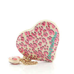 Heart Coin Purse Limited Edition Stephen Sprouse Leopard Monogram Vernis