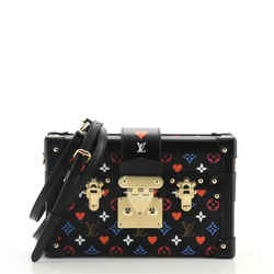 Petite Malle Handbag Limited Edition Game On Multicolor Monogram
