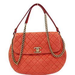 Chanel Red Flap Soft Caviar Leather Shoulder Crossbody Bag