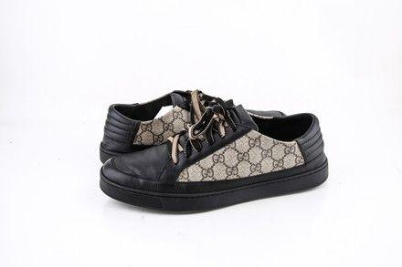 Gucci GG Supreme Sneaker Black   LePrix