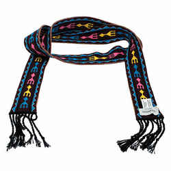 Valentino Multicolor Pattern Knit Bandeau Scarf