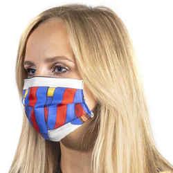 HERMES Vintage Les Sangles Brights Scarf Face Mask