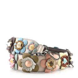 Flowerland Strap You Shoulder Strap Studded Leather