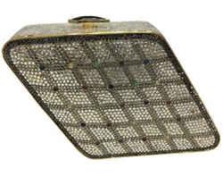 "Judith Leiber Minaudiere Silver Crystal Clutch 4.5""L x 4.5""W x 1.5""H Item #: 25609536"